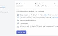 Shopify开店教程-Account账户信息设置