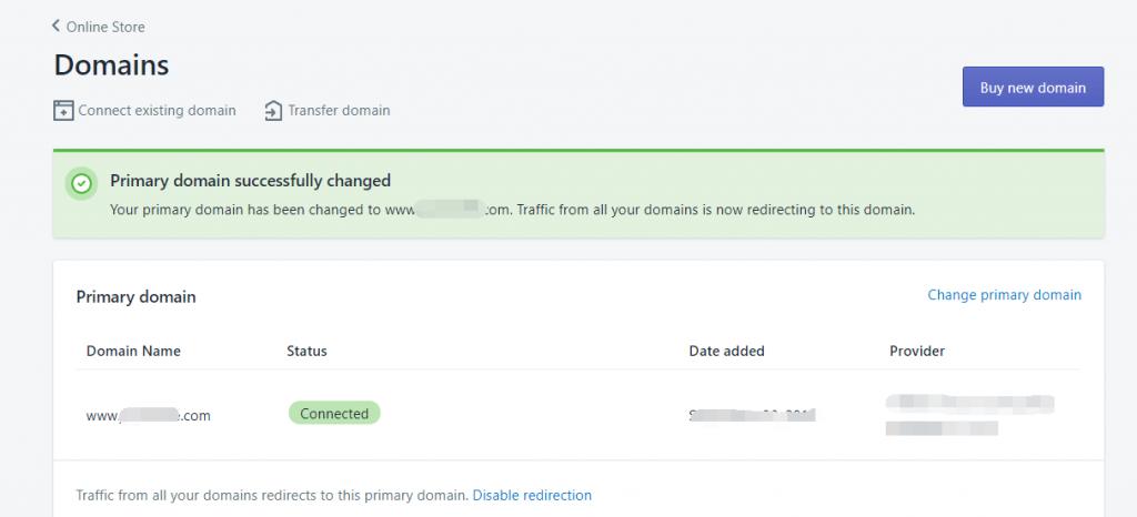 Shopify开店教程-域名选择和绑定