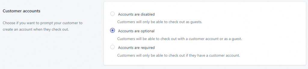 shopify付款设置