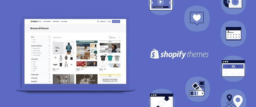 Shopify开店教程-如何选择购买Shopify主题