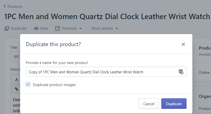 Shopify教程-产品上传(图片,变量,标签,库存,价格等)设置