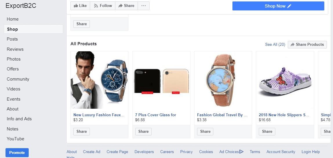Shopify开店+Facebook广告投放基础(4)-了解FB开店