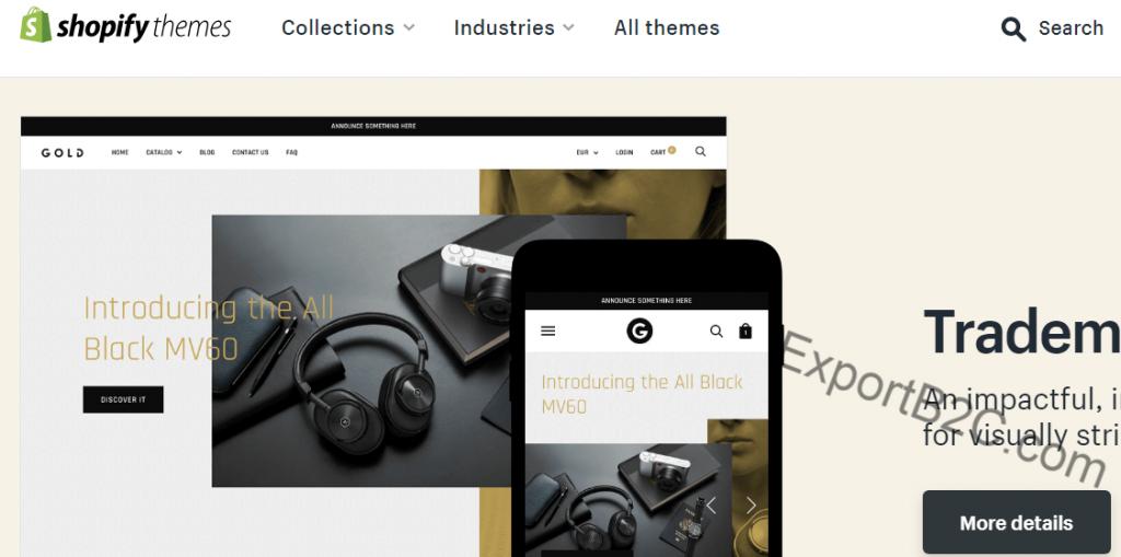 热销Shopify主题模板(Themeforest市场)推荐及购买安装流程