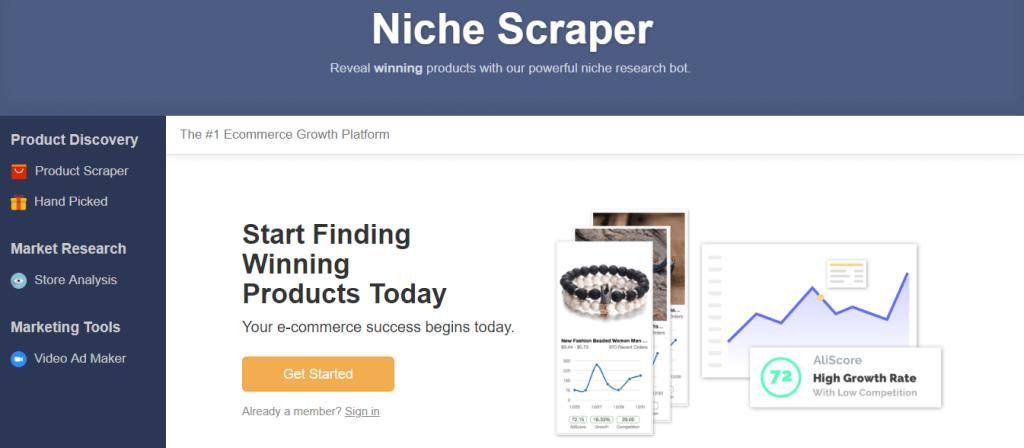 Shopify外贸独立站选品教程-如何利用工具Niche Scraper选利基产品?