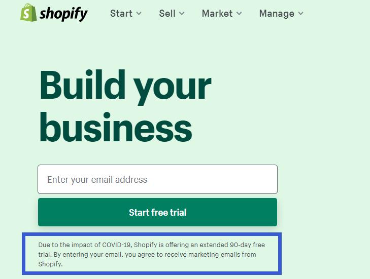 新注册用户免费试用90天?来看下Shopify官方的答疑