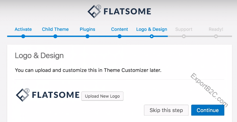销量第1位的Woocommerce商城主题模板-Flatsome购买安装教程