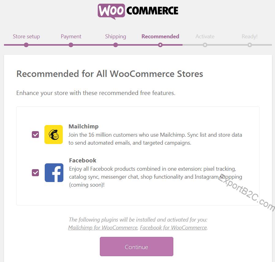 如何安装配置Woocommerce搭建B2C外贸独立站?
