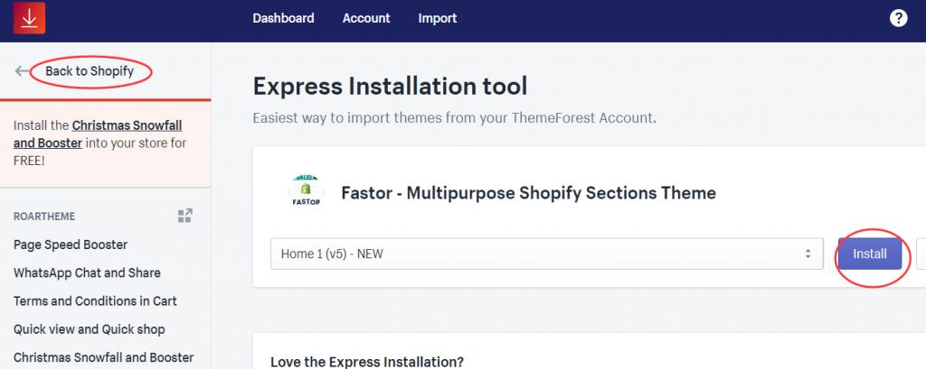 手把手教你用热销主题模板Fastor搭建Shopify独立站教程(1)-Fastor主题下载&安装