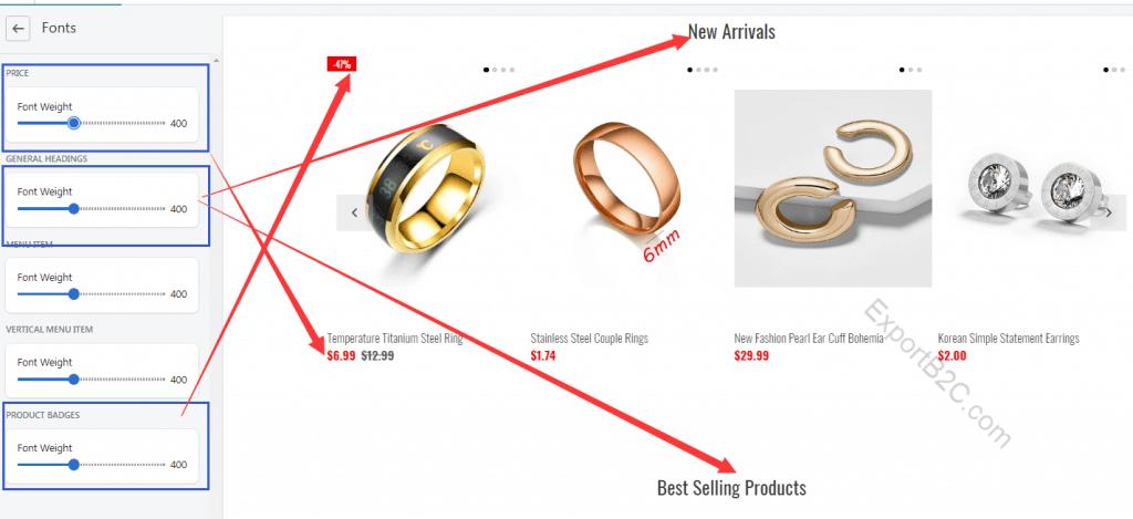 手把手教你用热销主题模板Fastor搭建Shopify独立站教程(2)-主题基本设置