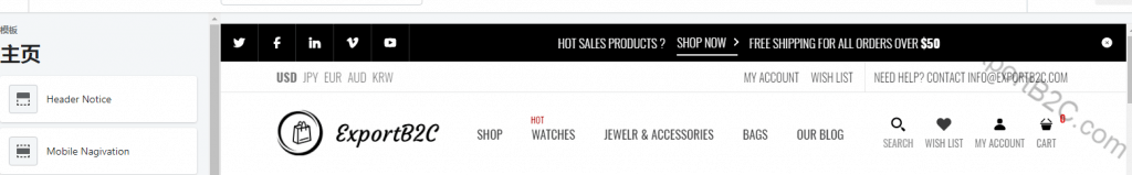 手把手教你用热销主题模板Fastor搭建Shopify独立站(5)-网站首页设置