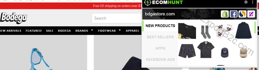 热门Shopify选品工具-Ecomhunt使用教程